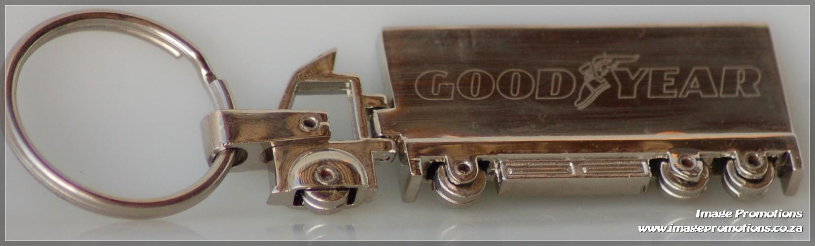 Goodyear Truck Keyring